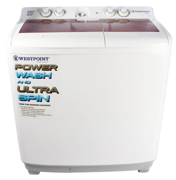 Westpoint Twin Tub 10 KG Washing Machine (WF2017GC)