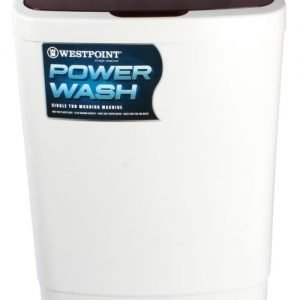 Westpoint Single Tub 10 Kg Washer (WF-1018 with Glass Cover)