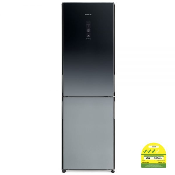 Hitachi Bottom Freezer R-BG410P6MSX | 13 Cubic Feet