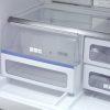 SharpFrenchDoorRefrigeratorSJ FSV BK|CubicFeet