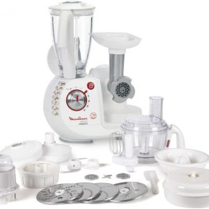 Moulinex FP-7371BM Food Processor (Made In France)