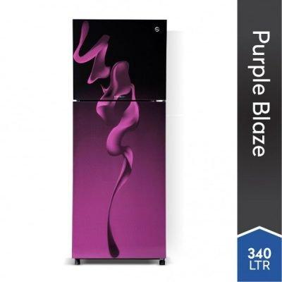 pel  glass door refrigerator