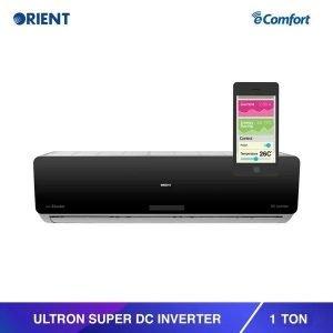 Orient 1 Ton Ultron Super Mirror Black Inverter AC pakref.com