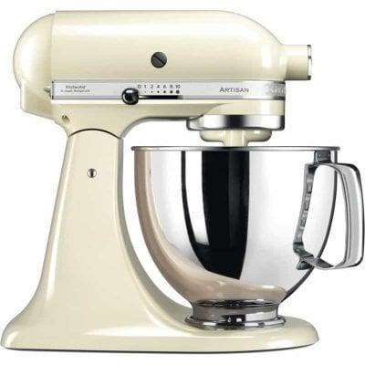 kitchenaidstandmixerksmalmondcream