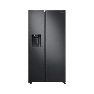 samsung side by side refrigerator black
